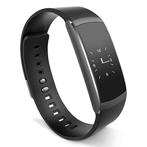 iWOWNfit i6 Pro Fitness Tracker Smart Wristband with Dynamic Heart Rate and Deep/Light Sleep Monitor, Steps Distance Track Calories Counter Activity Touch Screen Bracelet for Android and iOS