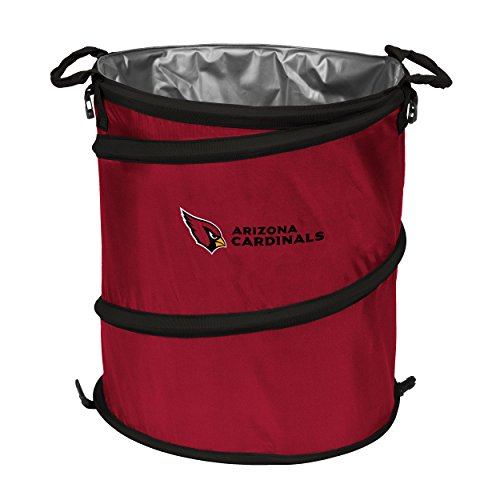 Logo Brands 601-35 NFL Arizona Cardinals 3-in-1 Cooler, 19