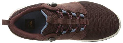 Teva Arrowood Wp, Zapatos de Low Rise Senderismo para Mujer, Morado (Mahogany-Mahmahogany-Mah), 39 EU