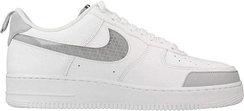 air force 1 grigie e bianche scarpe
