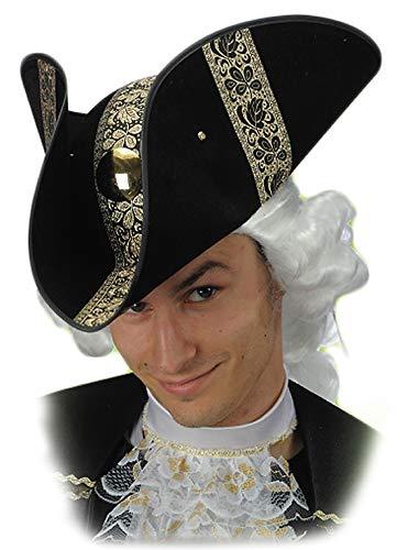 vari stili Sito ufficiale comprare a buon mercato Carnival T. Cappello Tricorno Veneziano Nero e Oro: Carnival ...