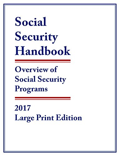 Social Security Handbook 2017  Overview Of Social Security Programs
