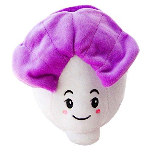 Children Plush Toys Small Size Creative Cute Cabbage Doll (Purple)