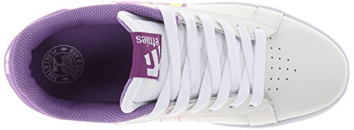 Etnies FADER LS WS Damen Skateboardschuhe White/Purple