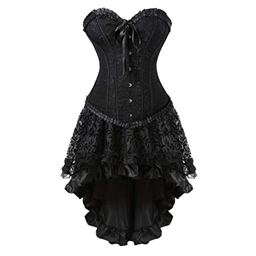 Zhitunemi Women Halloween Costume Gothic Victorian Corsets