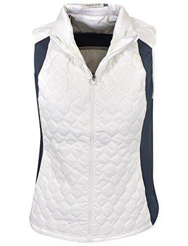 Maggie Lane Golf Ladies Quilted Full-Zip Vest