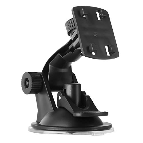 ZSMJ Windshield Mount for 4.3/5 Inch Display Monitor Screen of Backup Camera Suction Cup Holder for Car Windscreen for Rear View System Kit