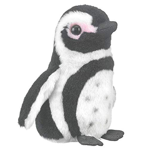 Wildlife Tree 5 Inch Black Footed Penguin Finger Puppets Stuffed Animals