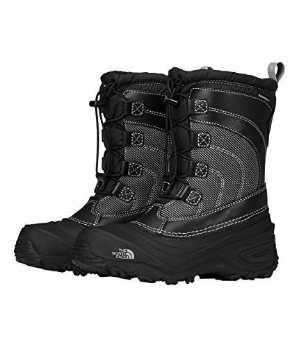 The North Face Alpenglow IV Boot, Tnf Black/Tnf Black, 4 M US Boys (Face Women Long Ski Pants North)