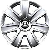 VW original replacement set of 14-inch wheel trims for VW Polo 6R 2010- / Fox