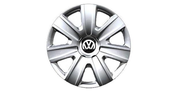 Original Volkswagen VW Piezas de repuesto VW Polo Tapacubos Kit 14 Pulgadas, Original Accesorios (Polo 6R, Fox: Amazon.es: Coche y moto