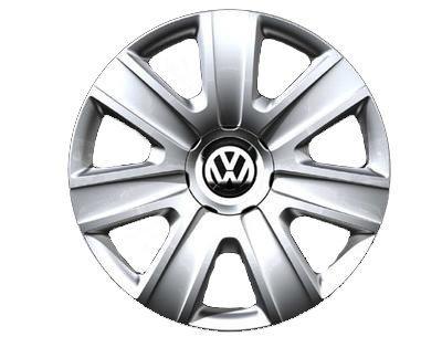 Original Volkswagen VW Piezas de repuesto VW Polo Tapacubos Kit 14 Pulgadas, Original Accesorios (