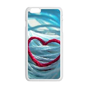 red line heart personalized high quality cell phone case for Iphone 6 Plus