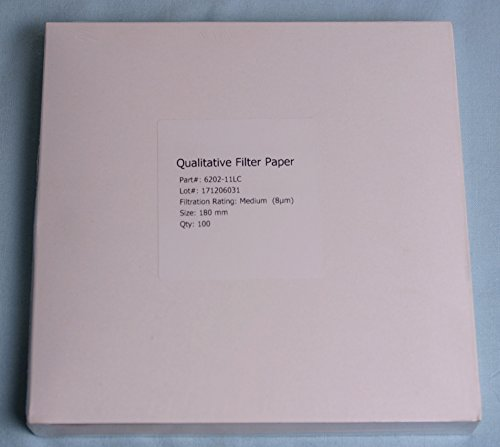 18 cm - 102 Qualitative Filter Paper by Lab Nerd