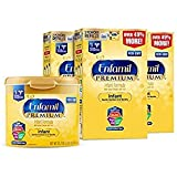 Enfamil PREMIUM Non-GMO Infant Formula, Powder 121.8 Ounce - Pack of 6