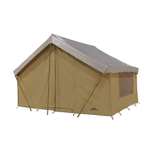 Trek Tents 245C Cotton Canvas Cabin Tent 9 x 12-Feet Beige  sc 1 st  Amazon.com & Wall Tents: Amazon.com