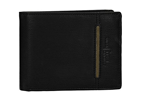 ANTONIO flap and black man Wallet with BASILE purse VA2583 leather coin in F54SSUwBq