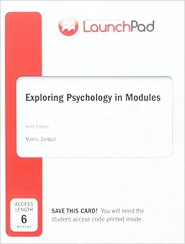 Amazon launchpad for myerss exploring psychology in modules launchpad for myerss exploring psychology in modules six month access tenth edition fandeluxe Choice Image