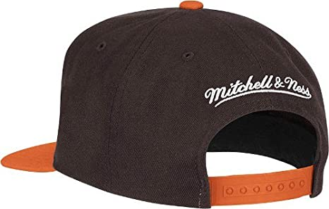 cheap for discount 64f95 9a4bc ... closeout amazon cleveland browns big logo brown orange adjustable snapback  hat cap clothing 560b4 87d8b