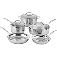Cuisinart 87-8 8-Pieces Classic Stainless Cookware Set