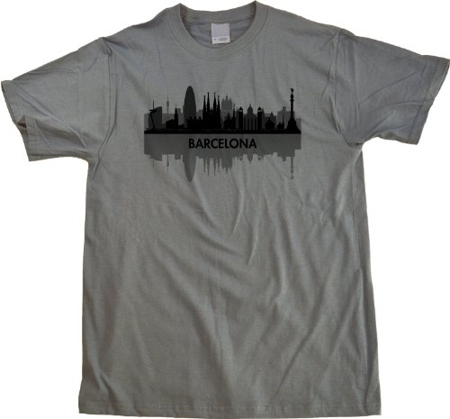 Skyline of Barcelona, Spain Unisex T-shirt Barcelona Spain Shirt