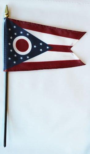 Miniature State Flags - Ohio - 4