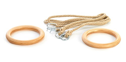 Cross Fitness Gym Ringe Turnringe mit Seil