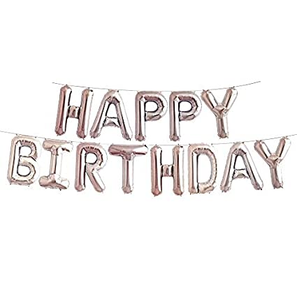 Image Unavailable Not Available For Color Happy Birthday Letter