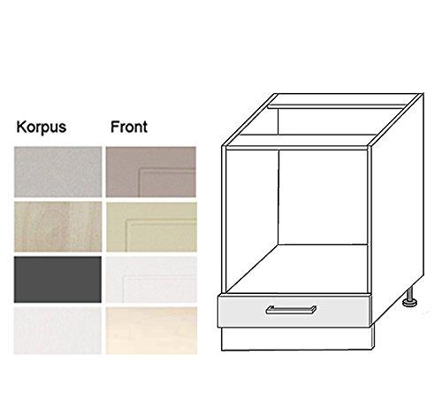 Häufig Herdumbauschrank Küchenschrank 60cm zu Küchenzeile 161014 Korpus HB33