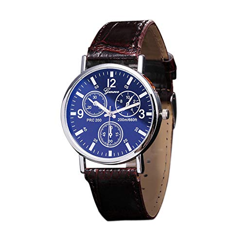 OutTop(TM) Geneva Women's/Men's Quartz Watch Leather Band Sport Analog Neutral Wrist Watch ()