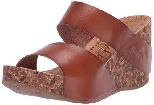 Blowfish Women's BF-7754 Sandal, Scotch, 7 Medium US