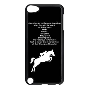 iPod 5 Case,Horse Hard Snap-On Cover Case for iPod Touch 5, 5G (5th Generation)