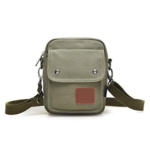 Männer Und Frauen Jahrgang Leinwand Messenger Aktentasche Schulter Tote Arbeiten Reisen Tasche,B-16cm*6cm*20cm