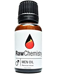Pheromones For Men Pheromone Cologne Oil [Attract Women] - Bold, Extra Strength Human Pheromones Formula by RawChemistry – 15mL Concentrate (Human Grade Pheromones to Attract Women)