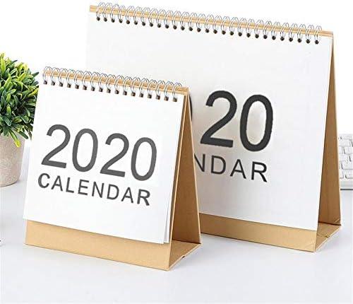 D.ragon Kalender Desktop 2019 2020 Monatlicher Tisch Office Tischplaner Datum Notizblock Gelbes Kraftpapier Kann Gefaltet Werden Für Lehrer Familie Oder Geschäftsstelle Typical