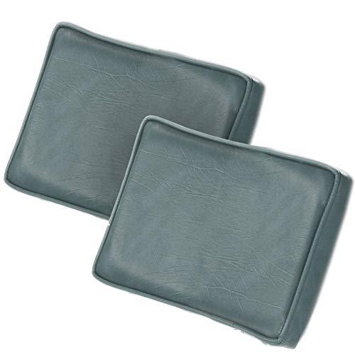 Stay Put [2] Coastal Grey Hot Tub Spa Pillows adjustable Headrest - Set of (Leisure Bay Hot Tub Parts)
