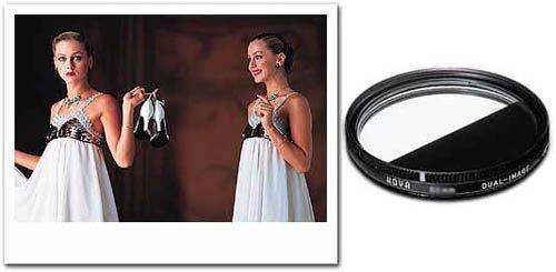 UPC 024066009227, Hoya 55mm Dual Image Lens Filter