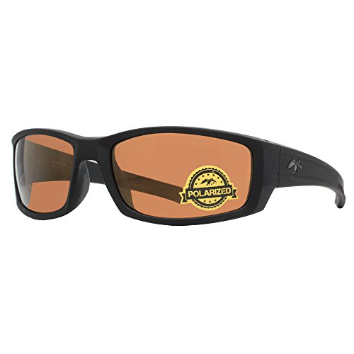 (DUCK COMMANDER Men's D857 MAT Polarized Sunglasses, Matte)