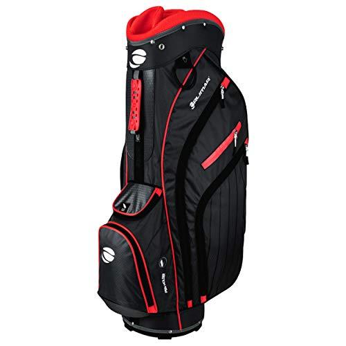 Orlimar CRX 14.9 Golf Cart Bag Black/Red