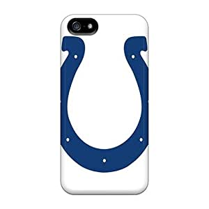 Iphone 5/5s Twz6639gAXF Unique Design Stylish Indianapolis Colts Series Protective Hard Phone Cases -JamieBratt