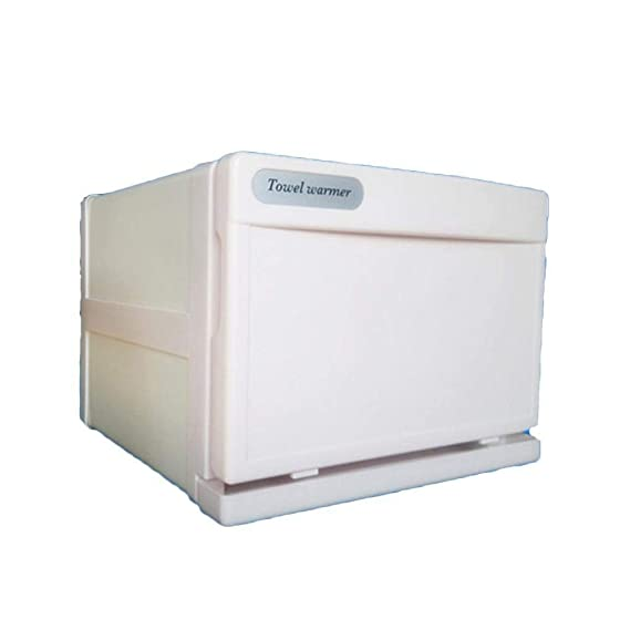 2 en 1 Toalla Más cálido Ultravioleta UV Esterilizador Gabinete, Facial Piel Cuidado SPA Belleza Salón Toalla Sanitización Equipo (7.5L), White: Amazon.es: ...