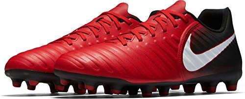 Tiempo Rio IV (FG) Football Boots - University Red