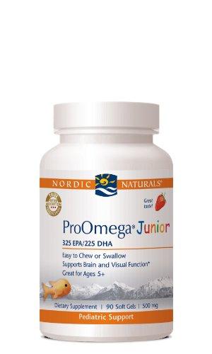 ProOmega Junior Strawberry 500mg Softgels product image
