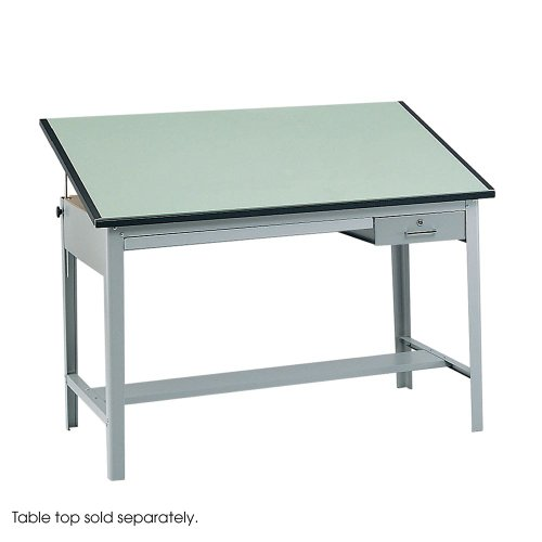 SAF3962GR - Safco Precision Drafting Table Base - Safco Precision Drafting Table