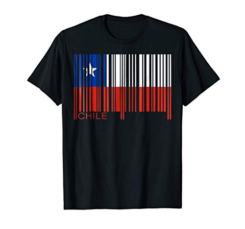 - Barcode Chile Bar Code TShirt Tee Shirt T-Shirt