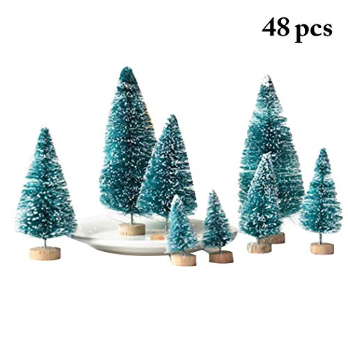 - Outgeek Artificial Christmas Tree Mini Creative Xmas Party Ornament Desk Decoration