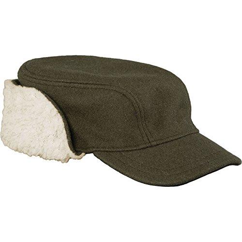 (Stormy Kromer The Bergland Cap, Olive, Size: S (50660-000040-260-415))