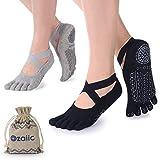 Best Barre Socks - Ozaiic Yoga Socks for Women with Grips, Non-Slip Review
