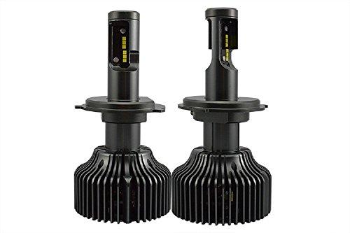 [LED Headlight Bulb, Purishion Super Bright 60W 8400lm 6000K LED Headlight Kits 12V/24V DC High Power,P7 CSP Chips LED Car Headlight - 2YRS Warranty (H4)] (P7 Led)