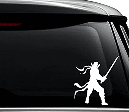 Amazon.com: Warrior Ninja Samurai Decal Sticker For Use On ...